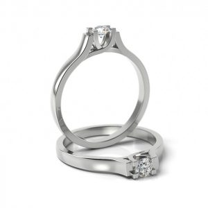 Zásnubný prsteň so zirkónom ZP 301