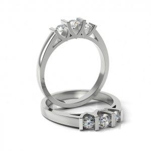 Zásnubný prsteň s diamantom ZP 302
