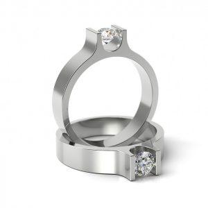 Zásnubný prsteň so zirkónom ZP 305