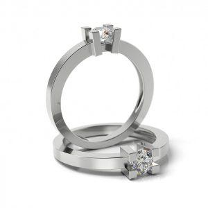Zásnubný prsteň so zirkónom ZP 306