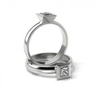 Zásnubný prsteň s diamantom ZP 308