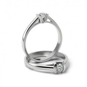 Zásnubný prsteň s diamantom ZP 309