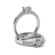 Zásnubný prsteň so zirkónom ZP 310 1