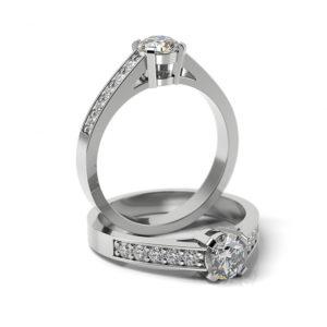 Zásnubný prsteň so zirkónom ZP 311