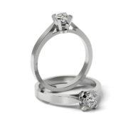Zásnubný prsteň s diamantom ZP 313