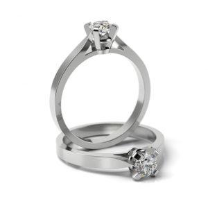 Zásnubný prsteň so zirkónom ZP 313