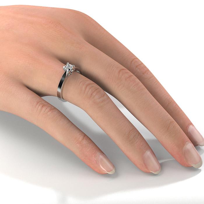 Zásnubný prsteň s diamantom ZP 313 2