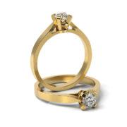 Zásnubný prsteň s diamantom ZP 313 3