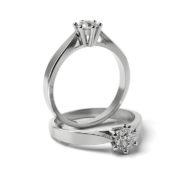 Zásnubný prsteň so zirkónom ZP 317 1