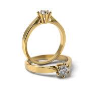 Zásnubný prsteň so zirkónom ZP 317 3