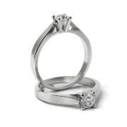 Zásnubný prsteň so zirkónom ZP 318