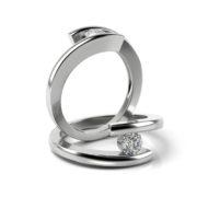 Zásnubný prsteň s diamantom ZP 319