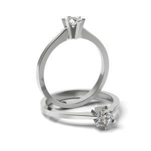 Zásnubný prsteň s diamantom ZP 320