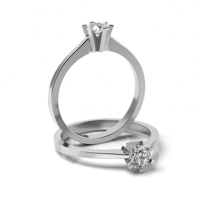 Zásnubný prsteň s diamantom ZP 320 1