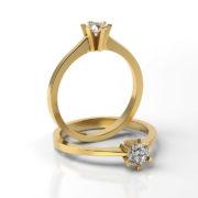 Zásnubný prsteň s diamantom ZP 320 3
