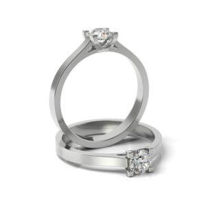 Zásnubný prsteň s diamantom ZP 321