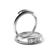 Zásnubný prsteň s diamantom ZP 323 1