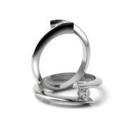 Zásnubný prsteň s diamantom ZP 324 1
