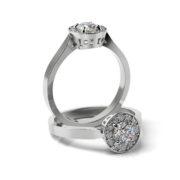 Zásnubný prsteň s diamantom ZP 325