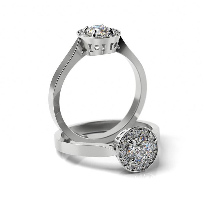 Zásnubný prsteň so zirkónom ZP 325 1
