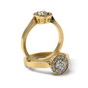 Zásnubný prsteň so zirkónom ZP 325 3