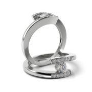 Zásnubný prsteň so zirkónom ZP 326