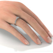 Zásnubný prsteň so zirkónom ZP 328 2