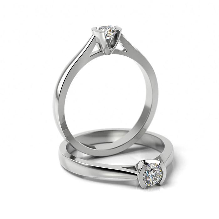 Zásnubný prsteň so zirkónom ZP 329 1