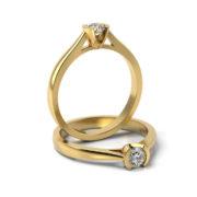 Zásnubný prsteň so zirkónom ZP 329 3