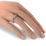 Zásnubný prsteň s diamantom ZP 330 2