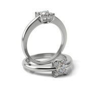 Zásnubný prsteň s diamantom ZP 331 1