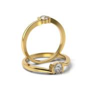Zásnubný prsteň so zirkónom ZP 333 3