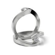 Zásnubný prsteň so zirkónom ZP 335