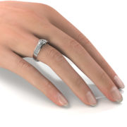 Zásnubný prsteň so zirkónom ZP 336 2