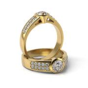 Zásnubný prsteň so zirkónom ZP 336 3
