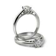 Zásnubný prsteň so zirkónom ZP 337
