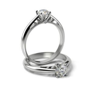 Zásnubný prsteň s diamantom ZP 337