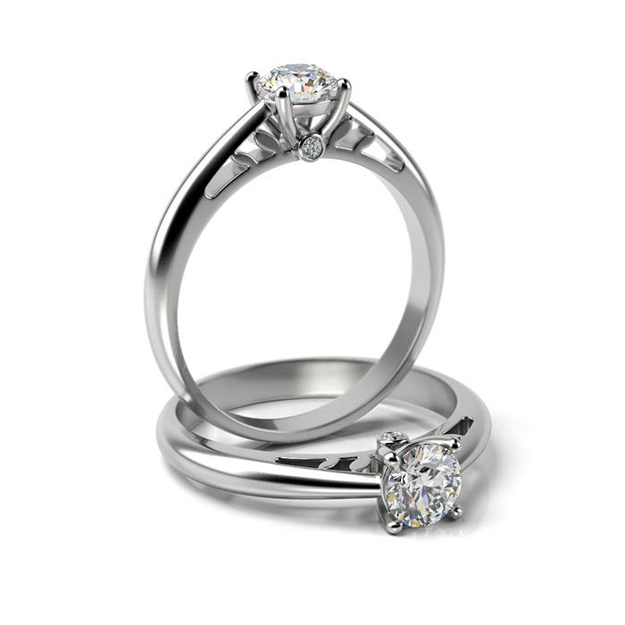 Zásnubný prsteň s diamantom ZP 337 1