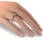 Zásnubný prsteň s diamantom ZP 337 2