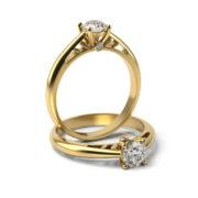 Zásnubný prsteň s diamantom ZP 337 3