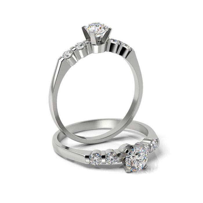 Zásnubný prsteň s diamantom ZP 338 1
