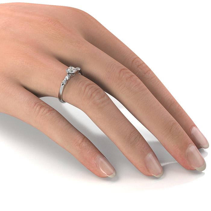 Zásnubný prsteň s diamantom ZP 338 2