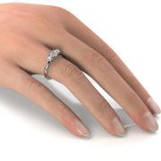 Zásnubný prsteň s diamantom ZP 339 2