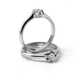 Zásnubný prsteň s diamantom ZP 344