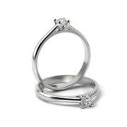 Zásnubný prsteň s diamantom ZP 345