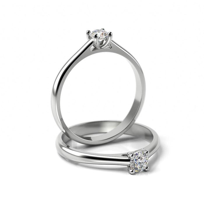 Zásnubný prsteň so zirkónom ZP 345 1