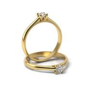 Zásnubný prsteň so zirkónom ZP 345 3