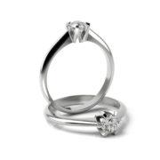 Zásnubný prsteň s diamantom ZP 348 1