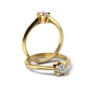 Zásnubný prsteň s diamantom ZP 348 3
