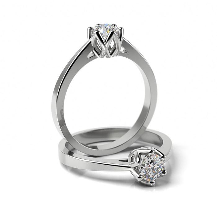 Zásnubný prsteň s diamantom ZP 349